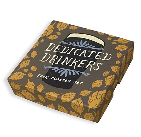 Dedicated Drinkers Coaster Set
