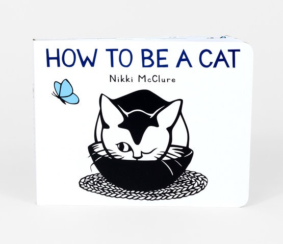 Nikki McClure - How To Be A Cat Board Book