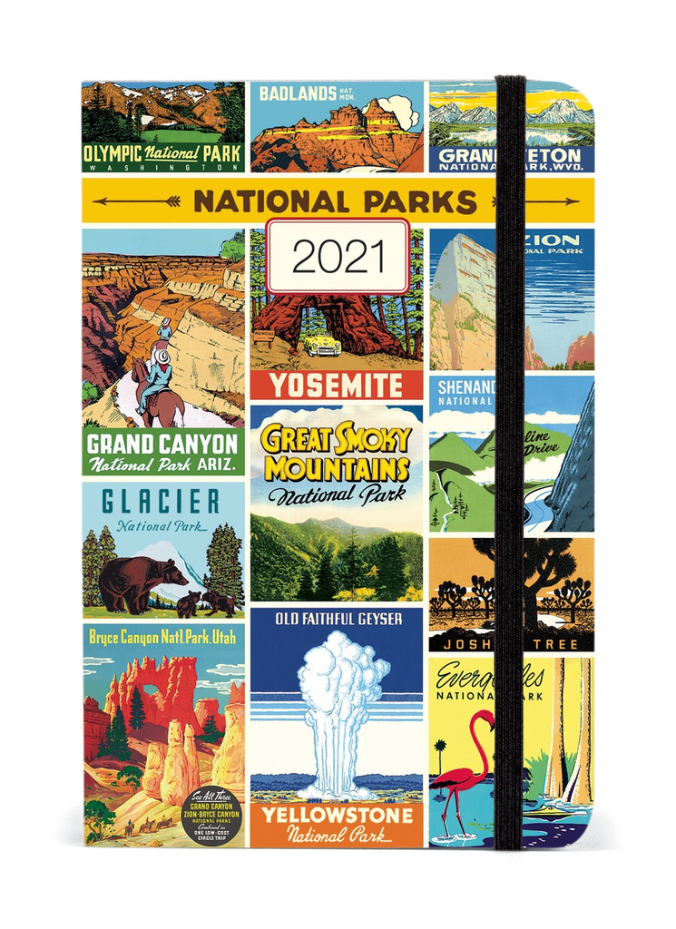 2021 National Parks Weekly planner