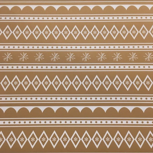 Gingerbread House Wrap Paper Sheet (pick up only)
