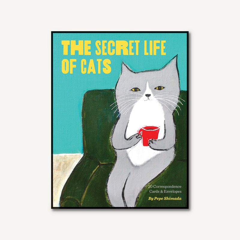the Secret Life of Cats Boxed Cards