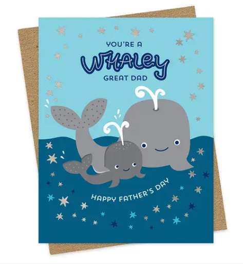 Whaley Good Father's Day Card