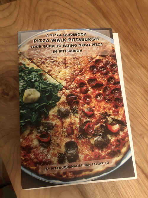 Pizza Walk With Me Guidebook by Dan Tallarico