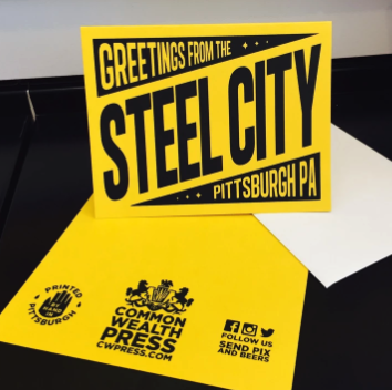 Greetings from the Steel City