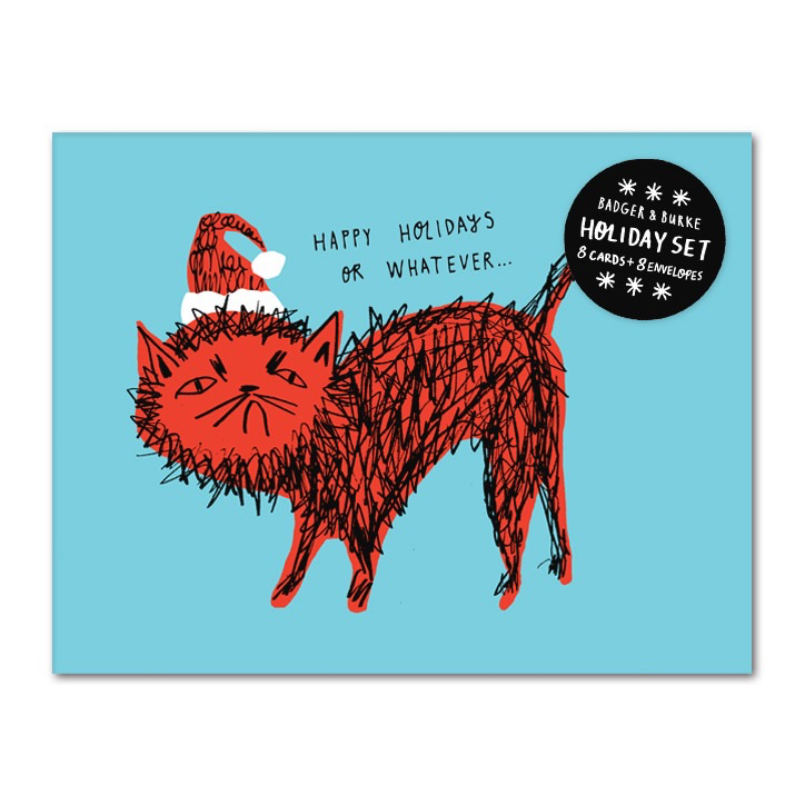 Snitty Kitty Holiday Boxed Cards