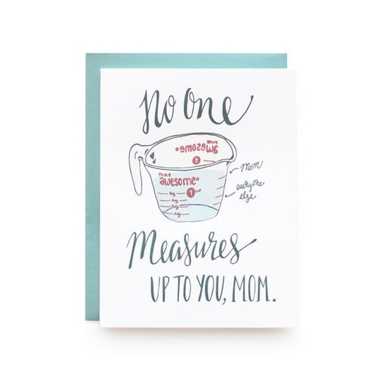 Measure Up Mother's Day Card