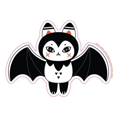 Bat Bat Sticker