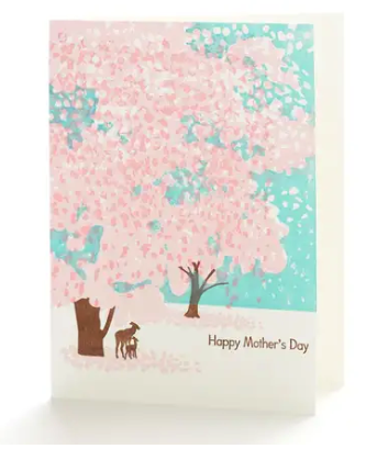 Mother's Day Deer Card