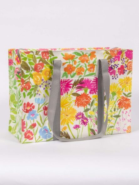 Flower Garden Shoulder Tote