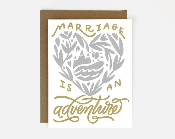 Marriage Adventure Card
