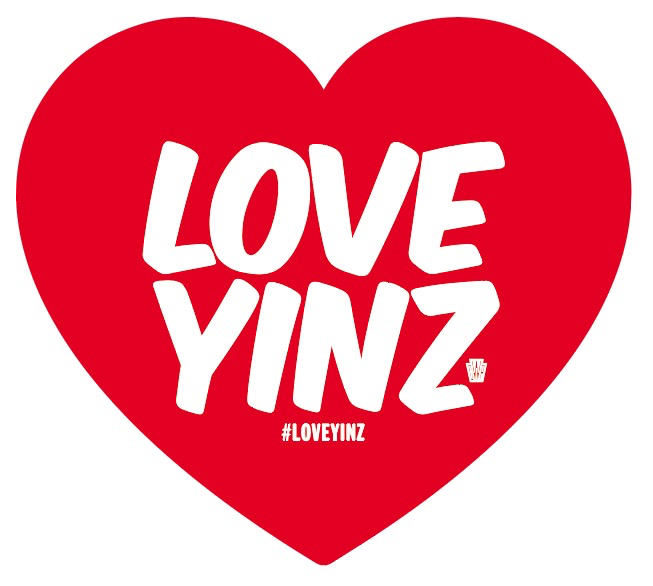 Love Yinz Vinyl Sticker