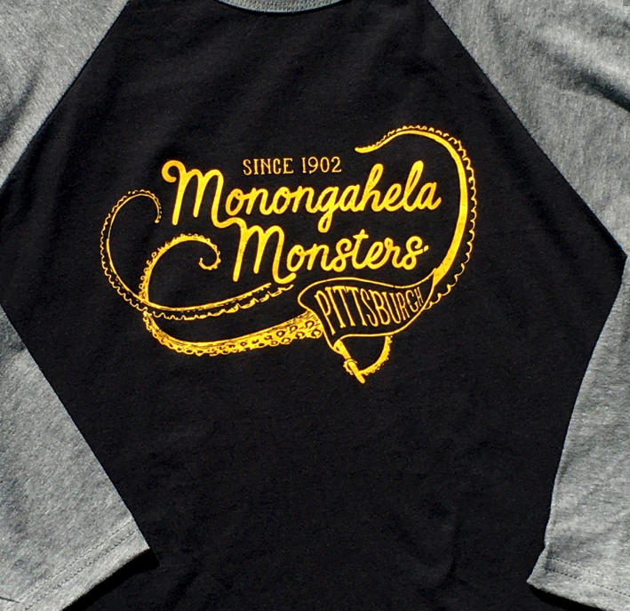 Monongahela Monster Baseball Ringer T-Shirt