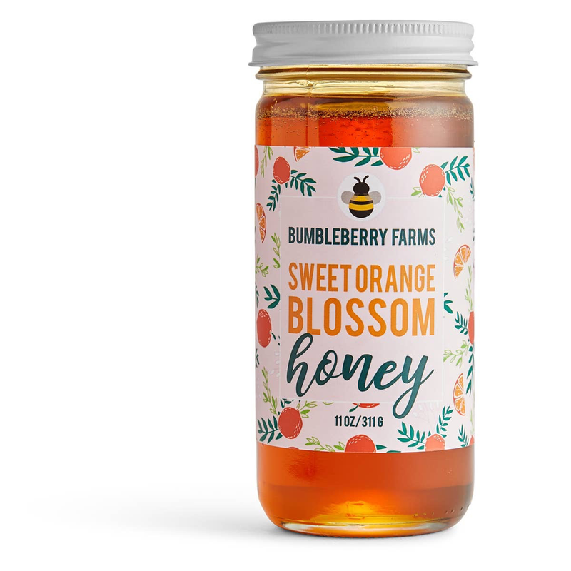 Sweet Orange Blossom Honey