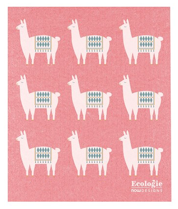 Llama Swedish Dishcloth