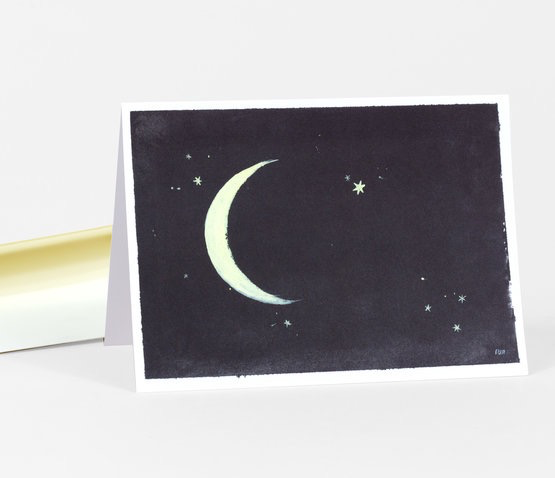 Little Night Sky Card