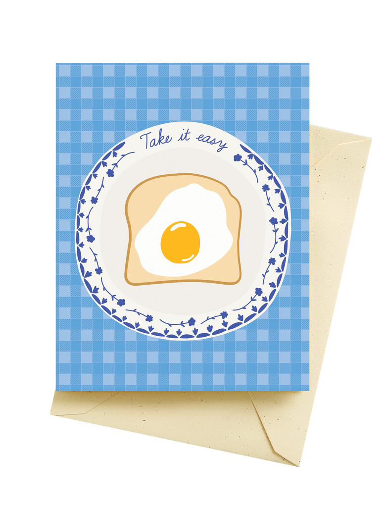 Easy Egg Mother's Day Card