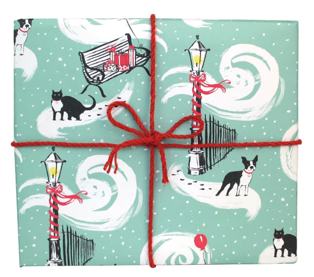 City Cat and Dog Wrap Paper Sheet (pick up only)