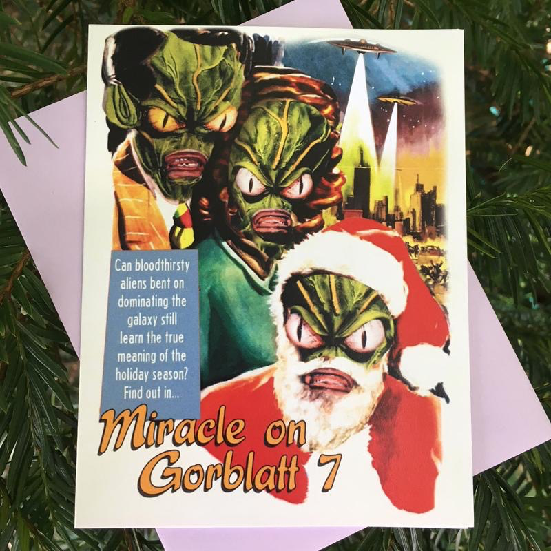 Miracle on Gorblatt 7 Holiday Card