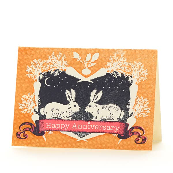 Rabbits Happy Anniversary