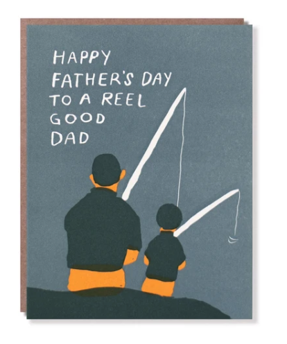 Reel Good Dad Father's Day Card
