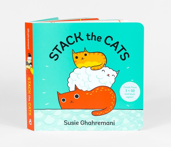 Stack the Cats Board Book - Susie Ghahremani