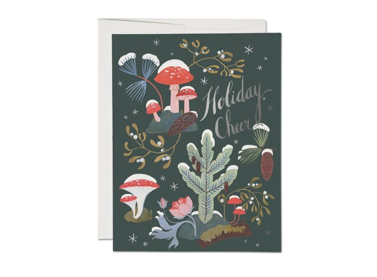 Holiday Moss Boxed Cards