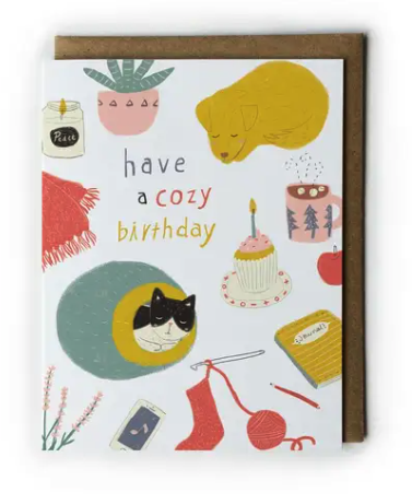 Cozy Birthday Card