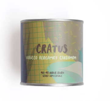 Cratus 6.5oz Soy Candle
