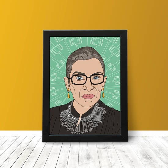 The NOTORIOUS RBG PRINT