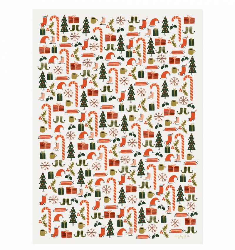 Favorite Things Holiday Wrap Paper Sheet (pick up only)
