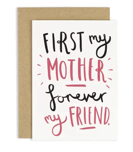 First My Mother Card