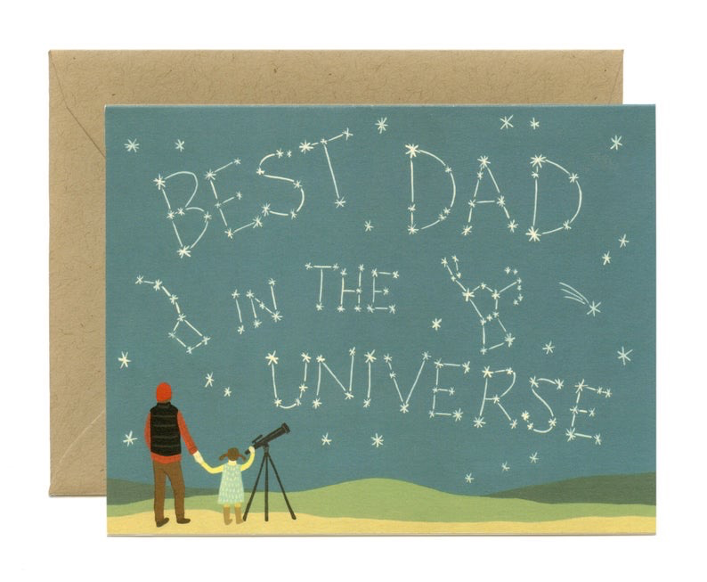 Constellation Father's Day Card
