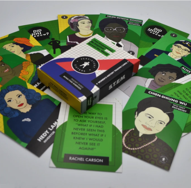 Women's History Trading Cards (STEM)