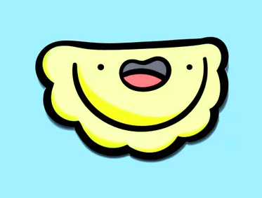 Happy Pierogi Sticker