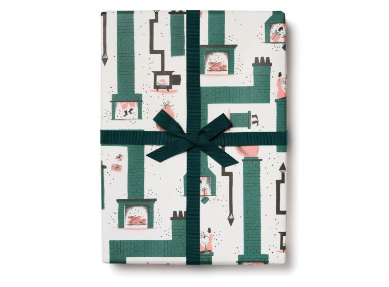 Santa Chimney Wrap Paper Sheet (pick up only)