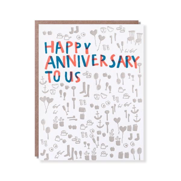 Happy Anniversary to Us Card