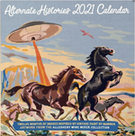 Paint by Numbers 2021 Calendar
