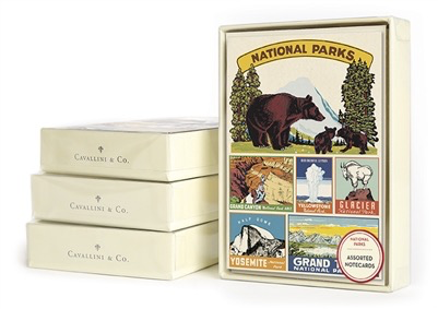 National Parks Boxed Cards
