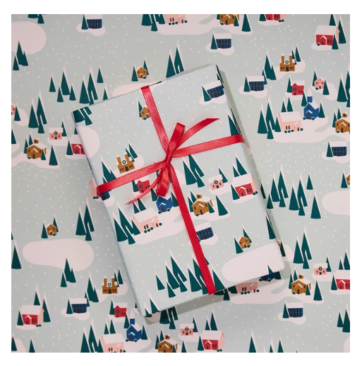 Winter Village Wrap Paper (pick up only)