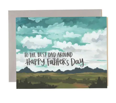 Father's Day Landscape Card
