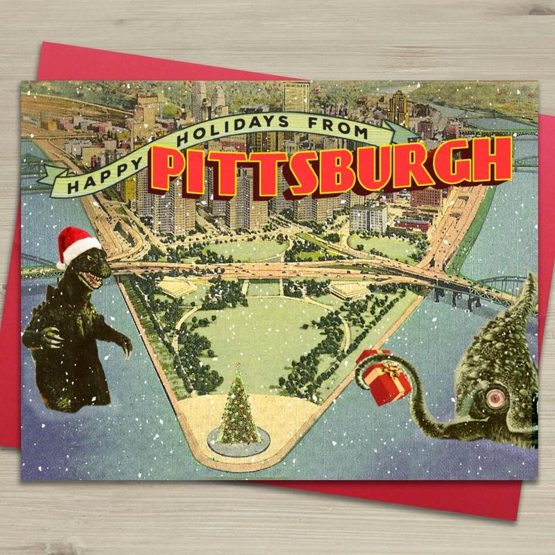Happy Holidays from Pittsburgh Card