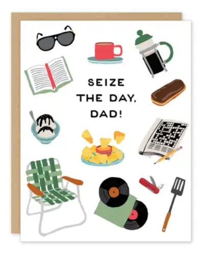 Seize the Day! Father's Day Card
