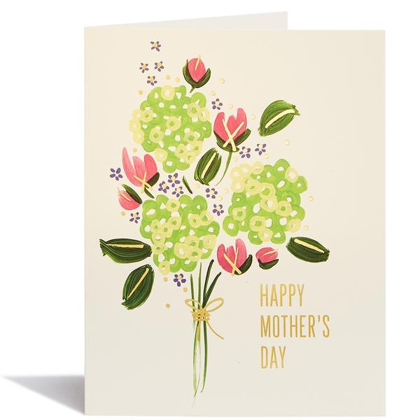 Hydrangea Mother's Day Card