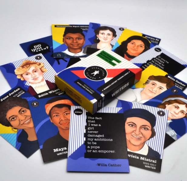 Women's History Trading Cards (Writers)