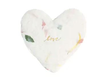 Love Petite Heart Enclosure Card
