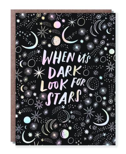 Look For the Stars Card