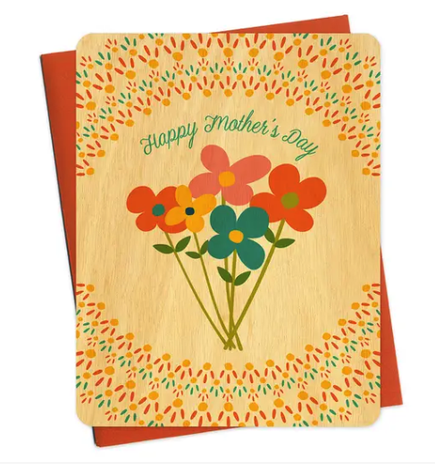 Mom Wildflowers Mother's Day Card