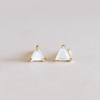 Mother of Pearl Mini Stud Earrings