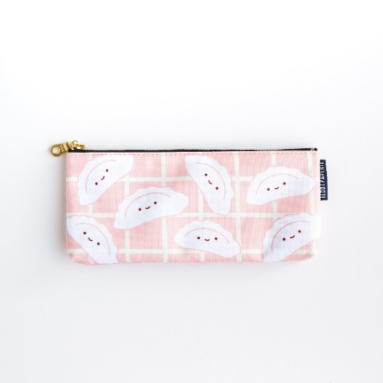 Happy Dumplings Pencil Bag / Make Up Bag