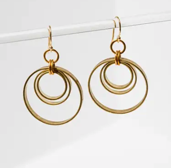 Concentric Circles Earrings